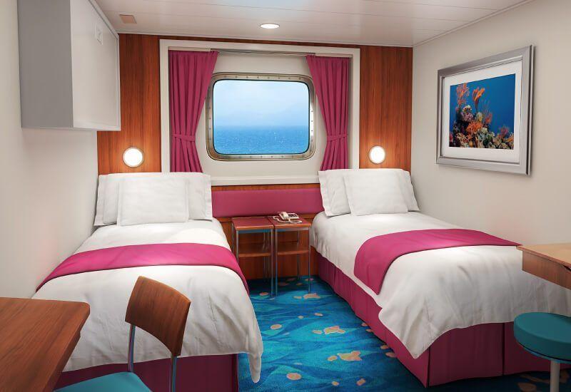 Cabine Extérieure du bateau de croisière Norwegian Jade