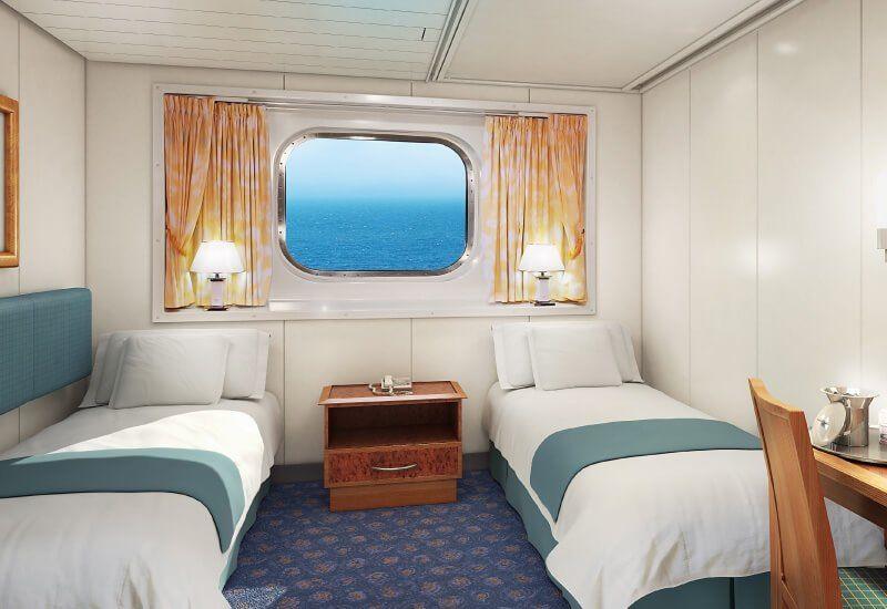Cabine Extérieure du bateau de croisière Norwegian Spirit