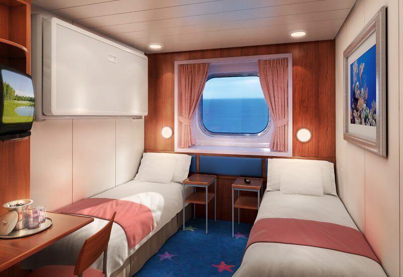Cabine Extérieure du bateau de croisière Norwegian Star