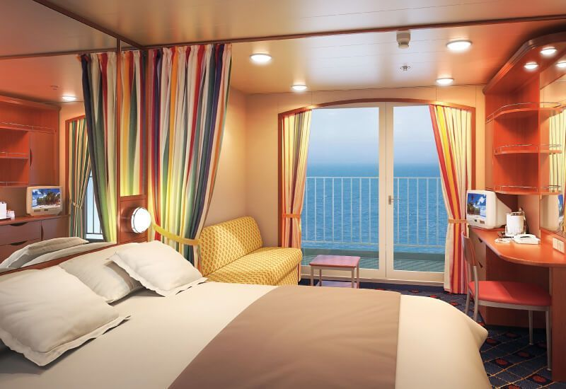 Cabine Balcon du bateau de croisière Norwegian Sun