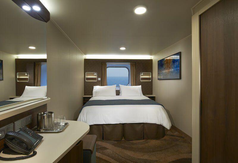 Cabine Extérieure du bateau de croisière Norwegian Escape