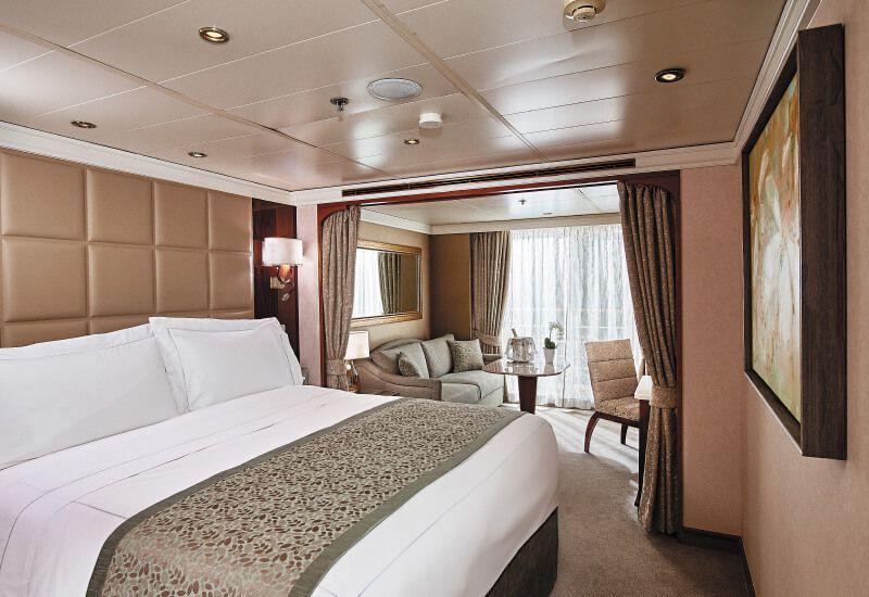 Suite PENTHOUSE du bateau de croisière Seven Seas Navigator