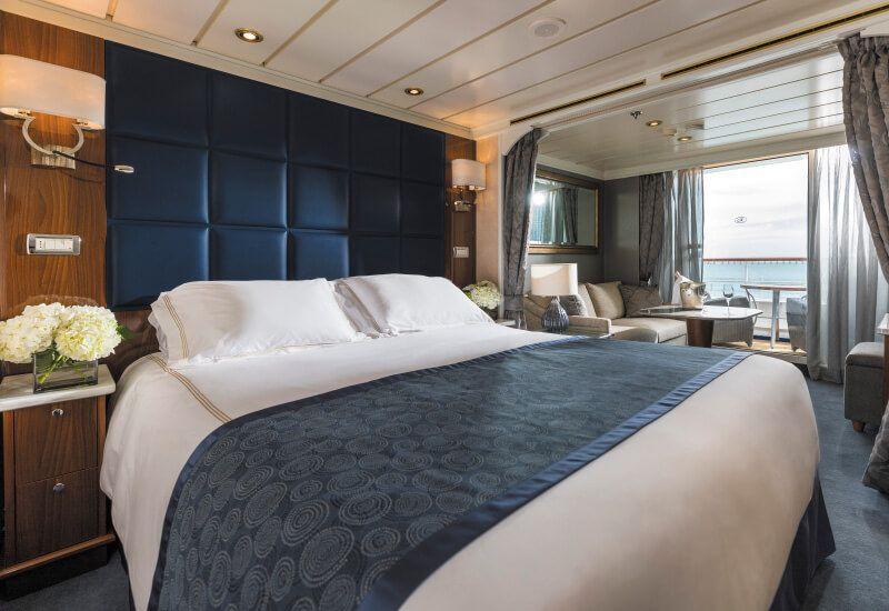 Suite DELUXE VERANDA du bateau de croisière Seven Seas Mariner
