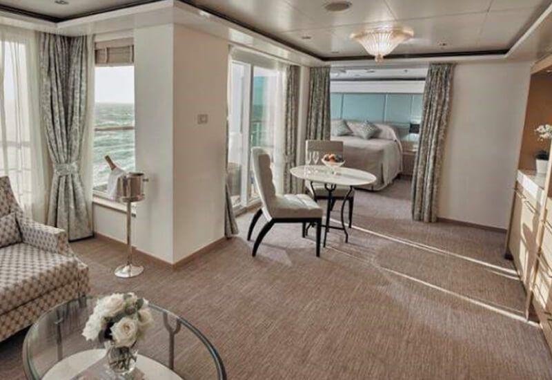 Suite VOYAGER du bateau de croisière Seven Seas Voyager