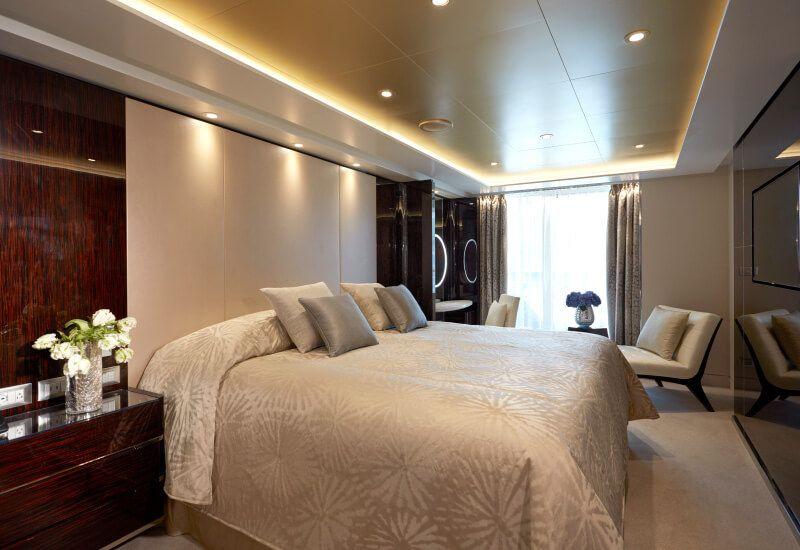 Suite SEVEN SEAS du bateau de croisière Seven Seas Explorer