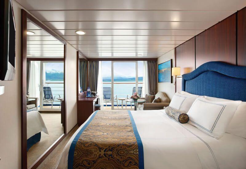 Cabine Balcon du bateau de croisière Nautica
