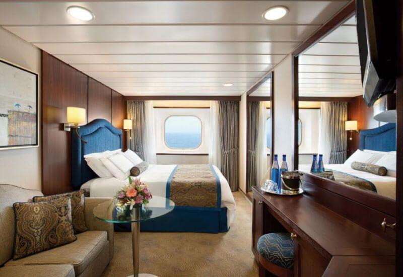 Cabine Extérieure du bateau de croisière Nautica
