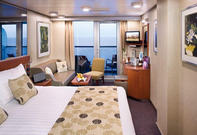 Cabine Balcon du bateau de croisière MS Eurodam