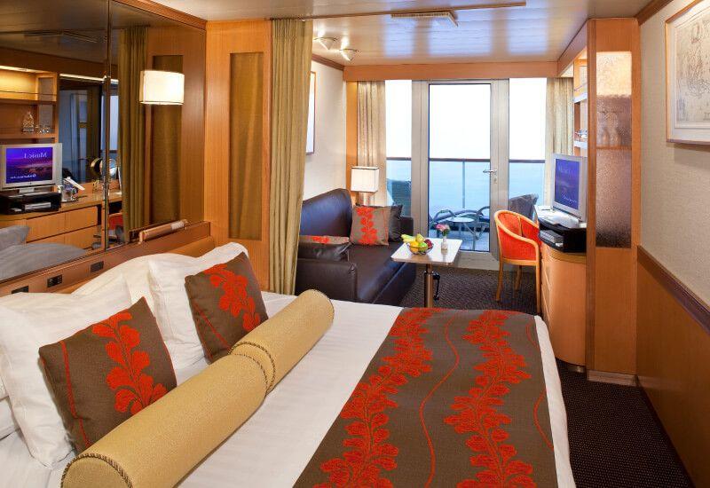 Suite du bateau de croisière MS Rotterdam
