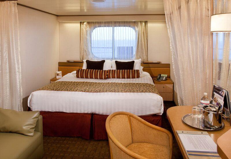 Cabine Extérieure du bateau de croisière MS Volendam