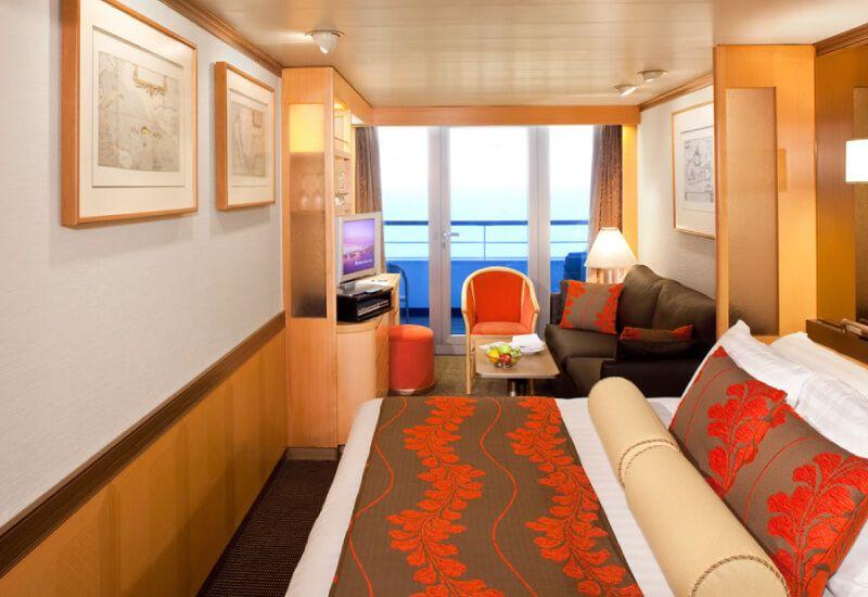 Suite du bateau de croisière MS Volendam
