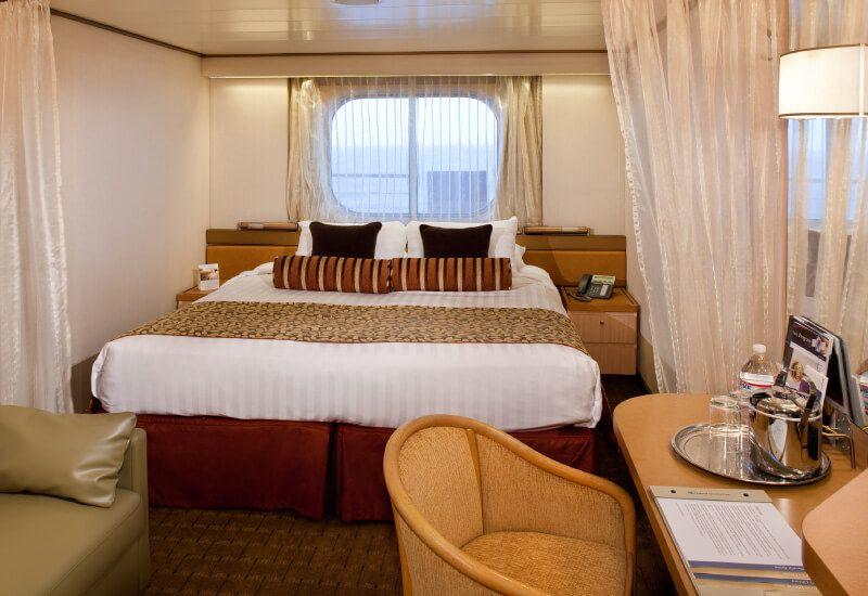 Cabine Extérieure du bateau de croisière MS Westerdam