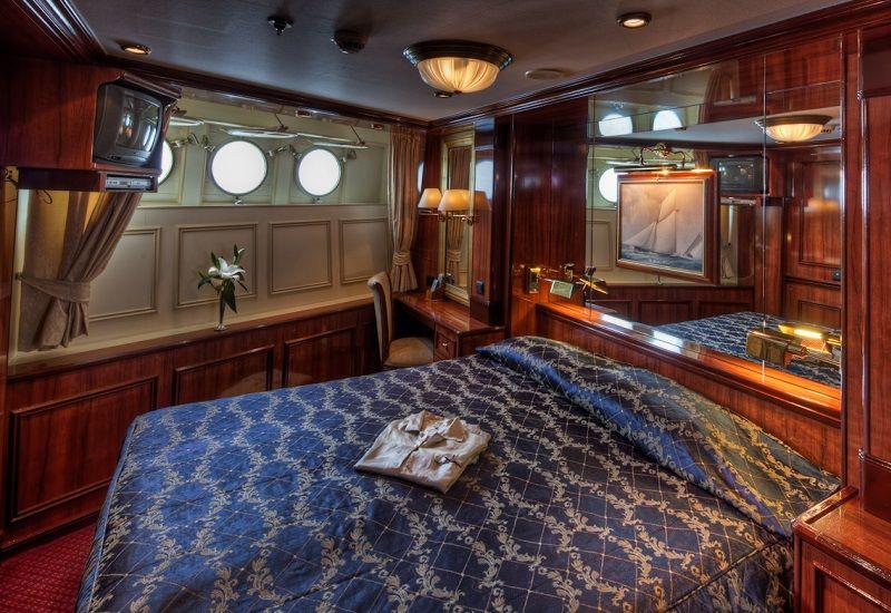 Suite du bateau de croisière Royal Clipper