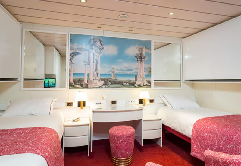 Cabine Balcon du bateau de croisière MS Astoria