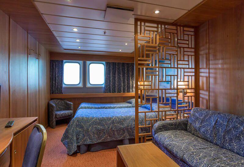 Suite du bateau de croisière MS Astoria