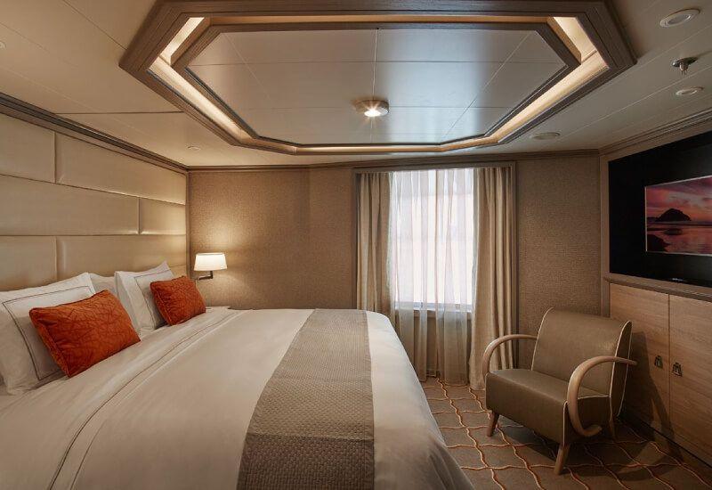 Royal Suite du bateau de croisière Silver Muse