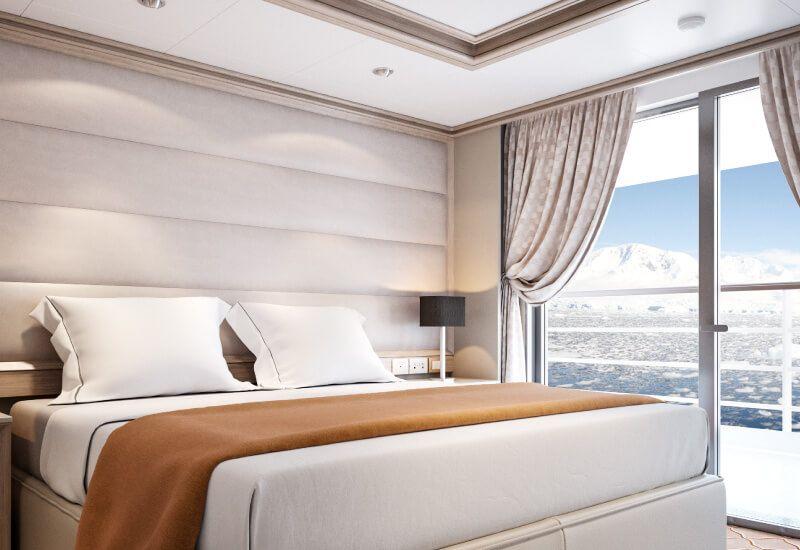 Suite Medaillon du bateau de croisière Silver Cloud Expedition