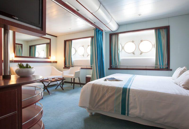 Suite du bateau de croisière Club Med 2