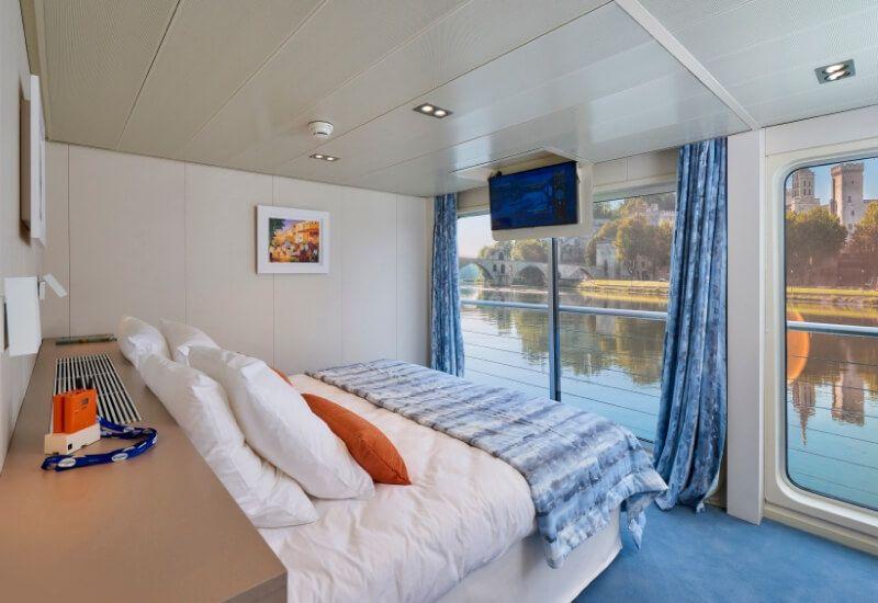 Cabine Extérieure du bateau MS Van Gogh