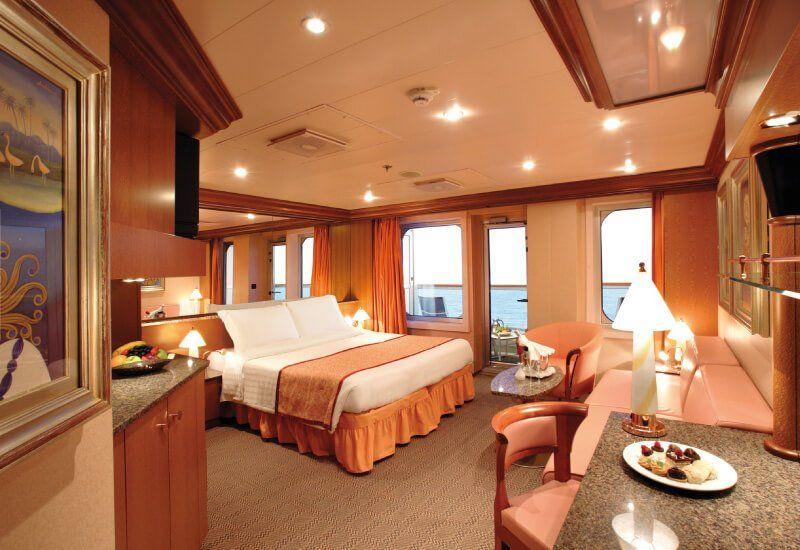 Suite du bateau de croisière Costa Fortuna