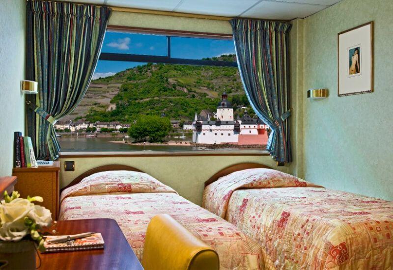 Cabine Extérieure du bateau de croisière MS Modigliani