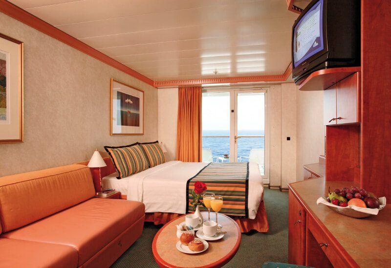 Cabine Balcon du navire de croisière Costa Atlantica