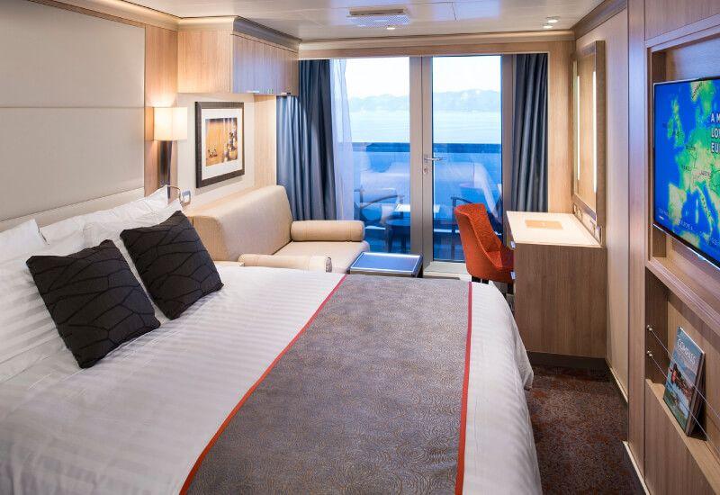 Cabine Balcon du bateau de croisière MS Nieuw Statendam