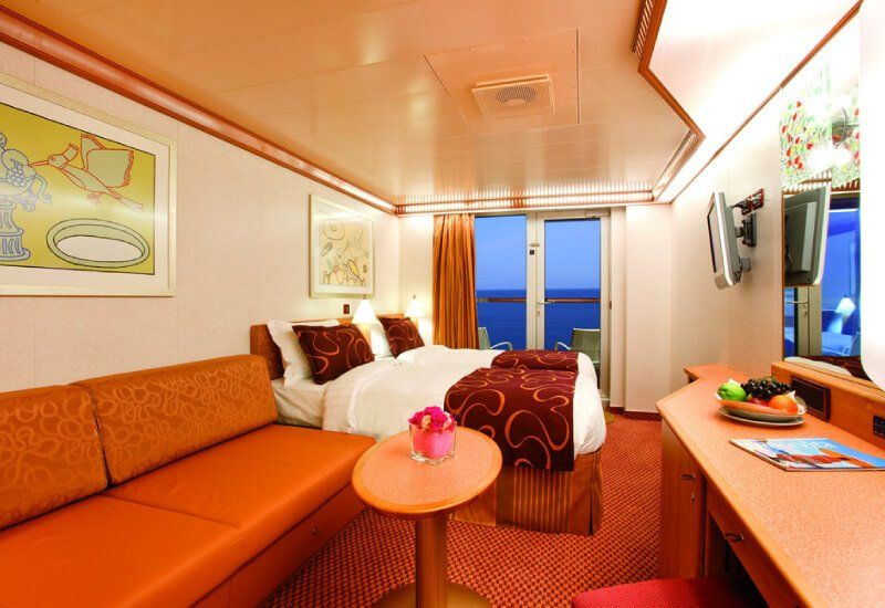 Cabine Balcon du navire de croisière Costa Diadema