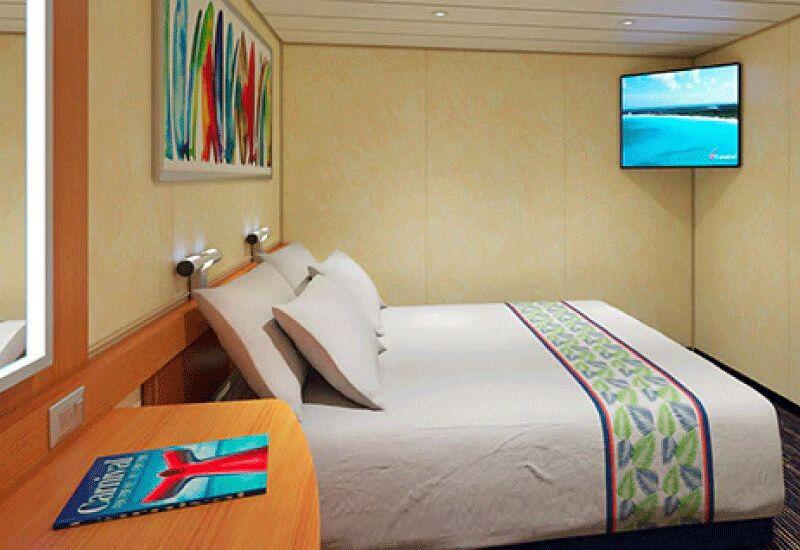 Cabine Intérieure du bateau de croisière Carnival Paradise