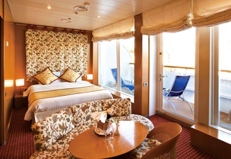 Suite du bateau de croisière Costa Victoria