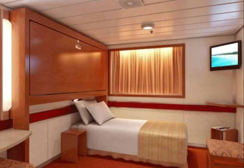 Cabine Intérieure du bateau de croisière Carnival Inspiration