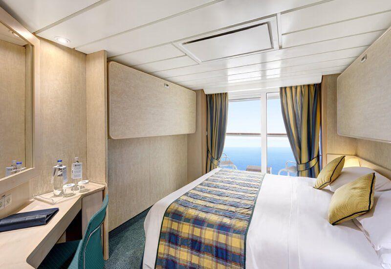 Cabine balcon du bateau de croisière MSC Armonia