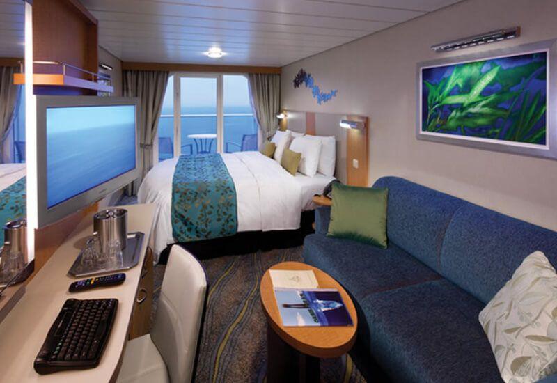 Cabine balcon du bateau de croisière Allure of the Seas