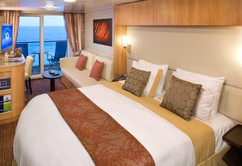 Cabine balcon du bateau de croisière Celebrity Silhouette