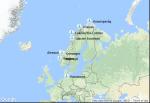 Itinéraire de la croisière : Allemagne, Norvège
