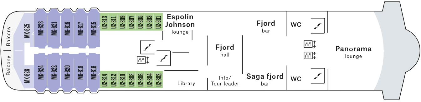 MS Trollfjord Pont 8