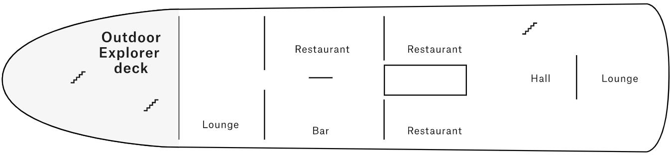 MS Nordstjernen Pont saloon
