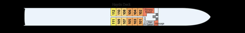 Amadeus Elegant pont 1 -Haydn Deck