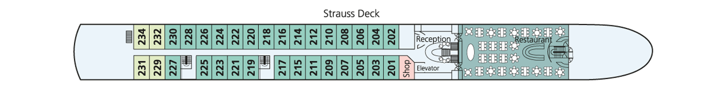 Amadeus Elegant pont 2 Strauss Deck