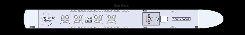 Amadeus Elegant  Pont 4 Sun Deck