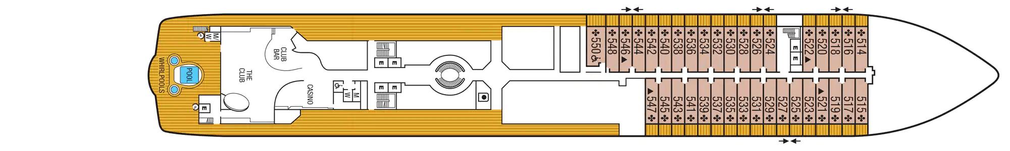 Seabourn Ovation Pont 5