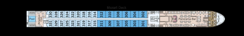 Amadeus Queen pont 3 Mozart Deck