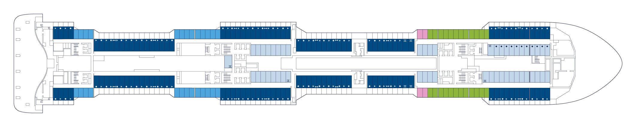 Pont 8 MSC Meraviglia