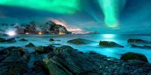 Une magnifique aurore boréale