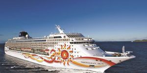 Le Norwegian Sun, bateau de croisière de taille moyenne