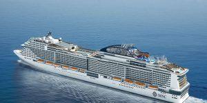 Le navire MSC Meraviglia