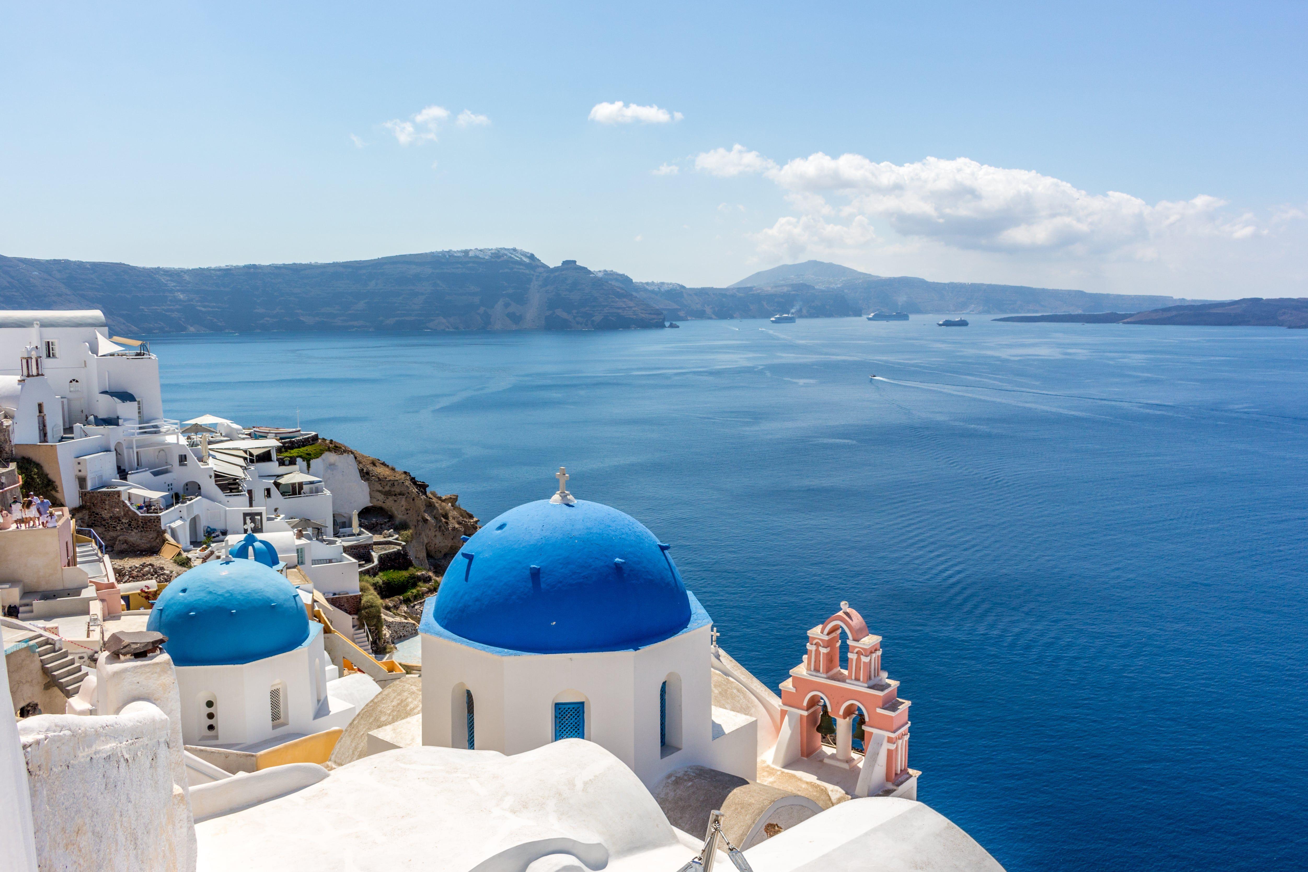 Les îles grecques pour un voyage de noces en croisiere inoubliable
