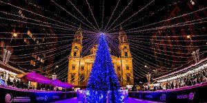 Des jeux de lumières enivrants à Budapest