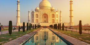 Le Taj Mahal est à découvrir durant des croisières en Inde