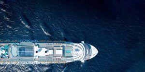 Admirez le plus beau bateau costa croisière depuis le ciel